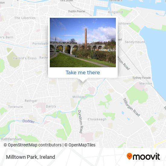 Milltown Park map