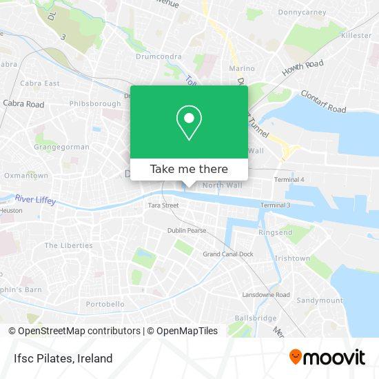 Ifsc Pilates map