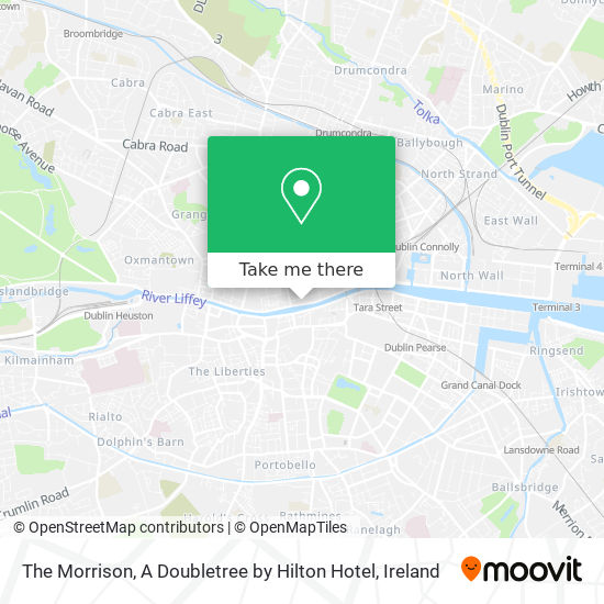 The Morrison Hotel map