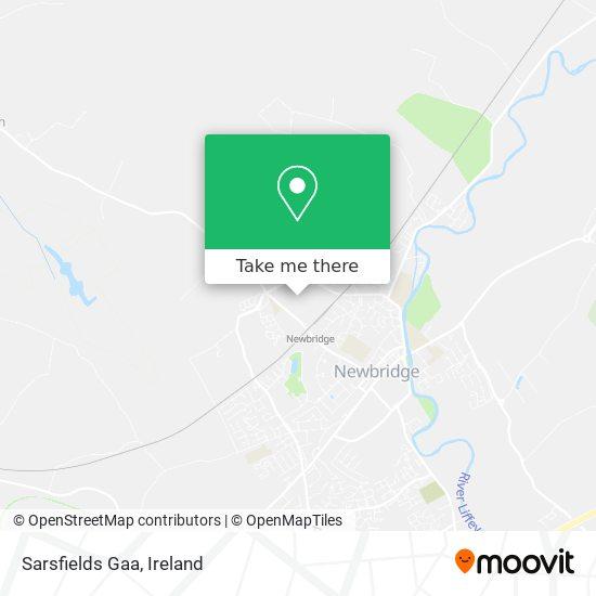 Sarsfields Gaa map