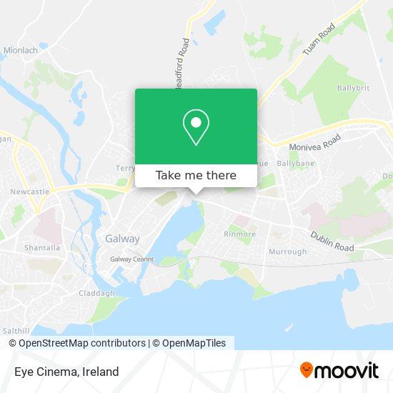 Eye Cinema map