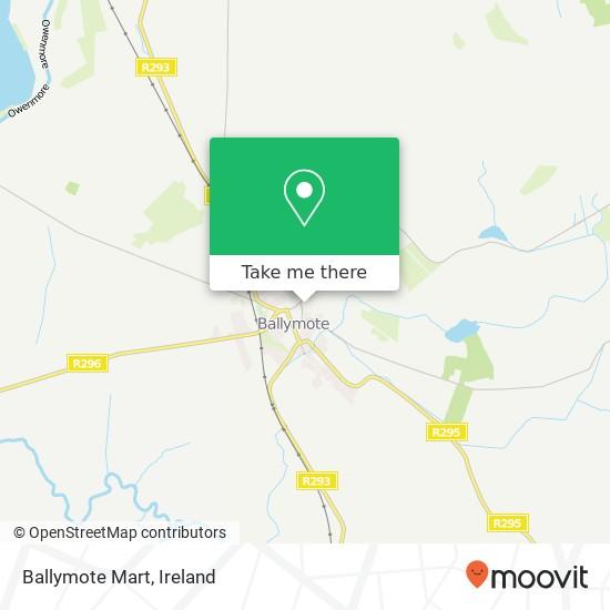 Mappa Ballymote Mart
