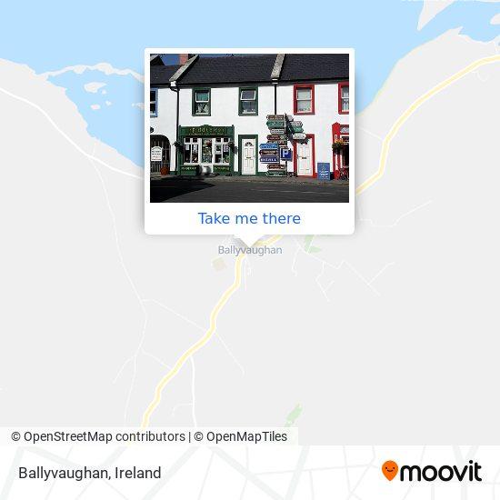 Mappa Ballyvaughan