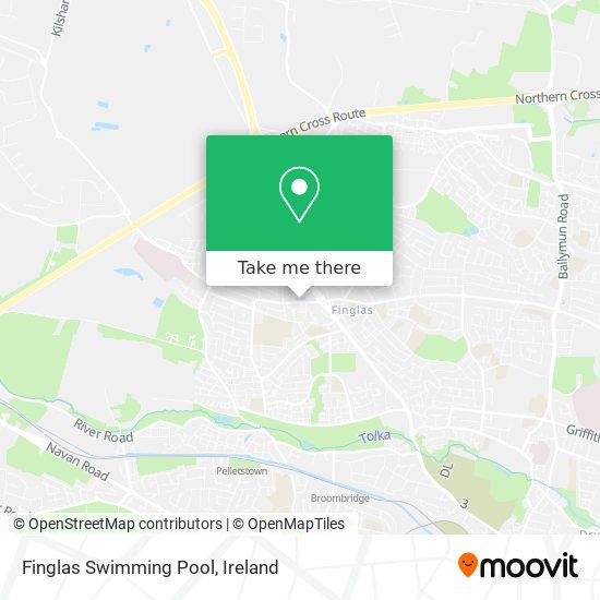 Finglas Swimming Pool map