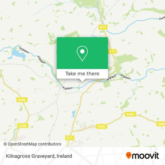 Kilnagross Graveyard map