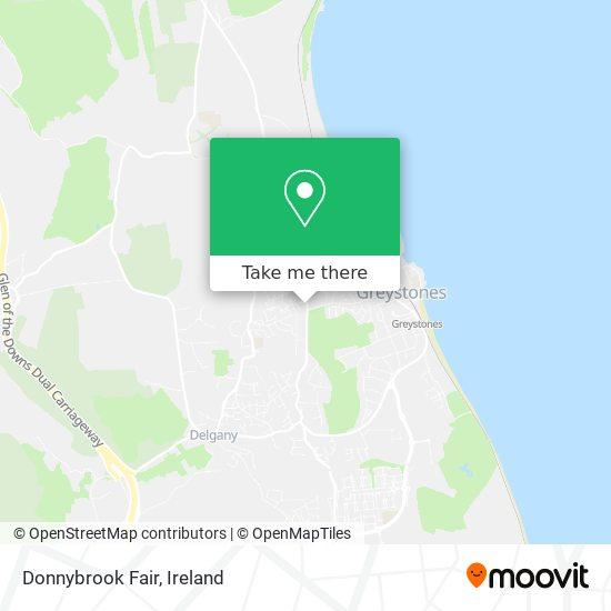 Donnybrook Fair map