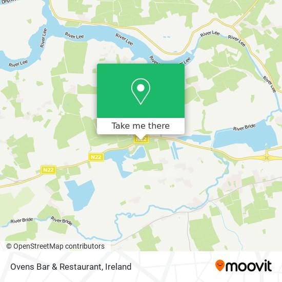 Ovens Bar & Restaurant map