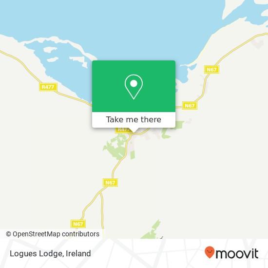 Mappa Logues Lodge