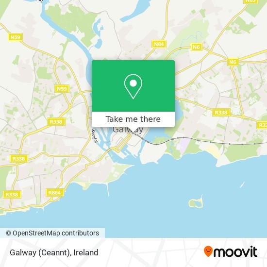 Galway (Ceannt) map