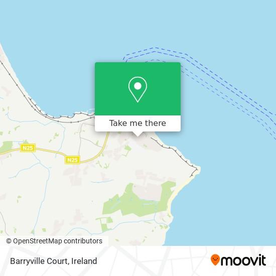 Barryville Court map