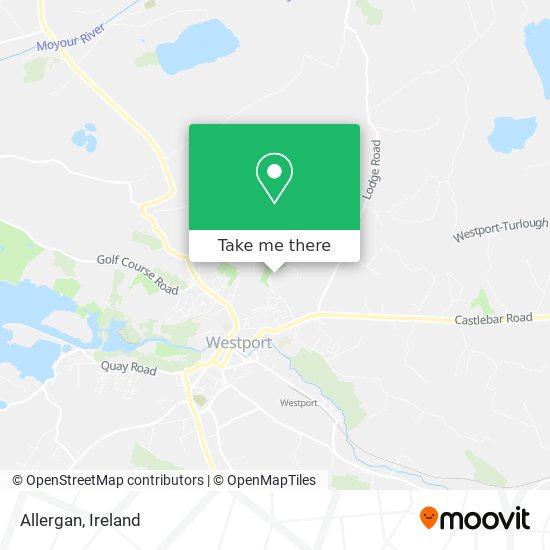 Allergan map