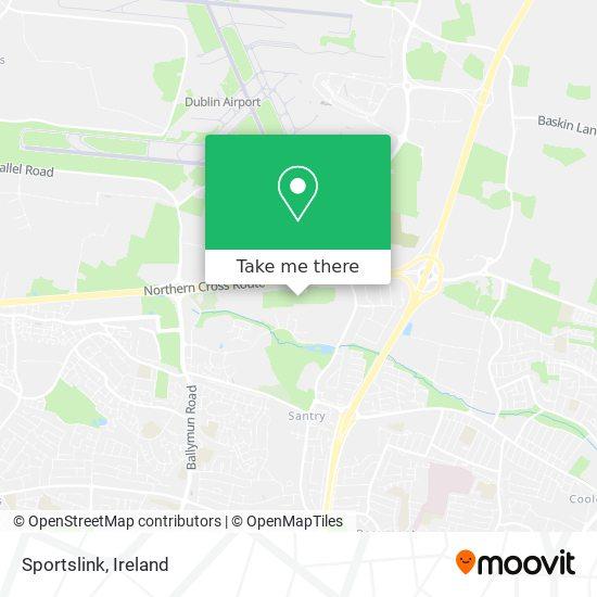 Sportslink map