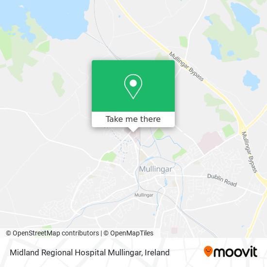 Midland Regional Hospital Mullingar map