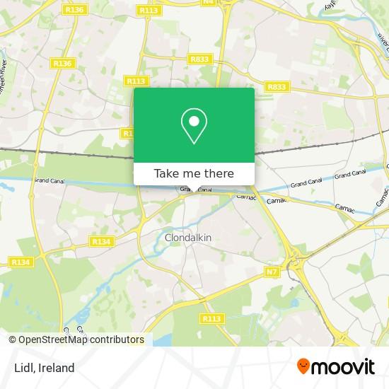 Lidl map
