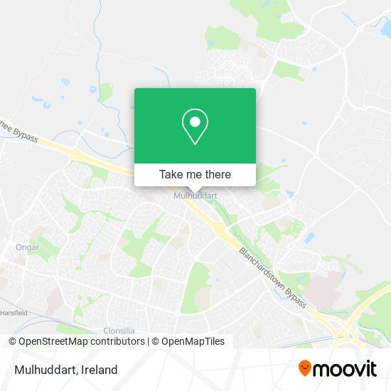 Mulhuddart map