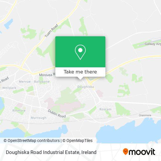 Doughiska Road Industrial Estate map