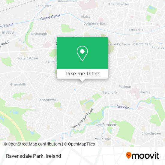 Ravensdale Park map