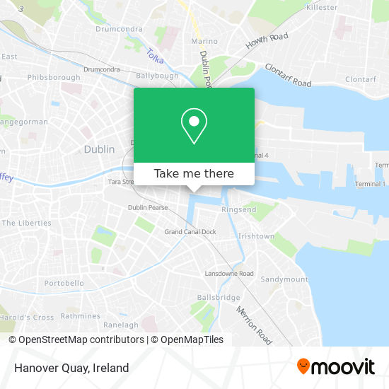 Hanover Quay map