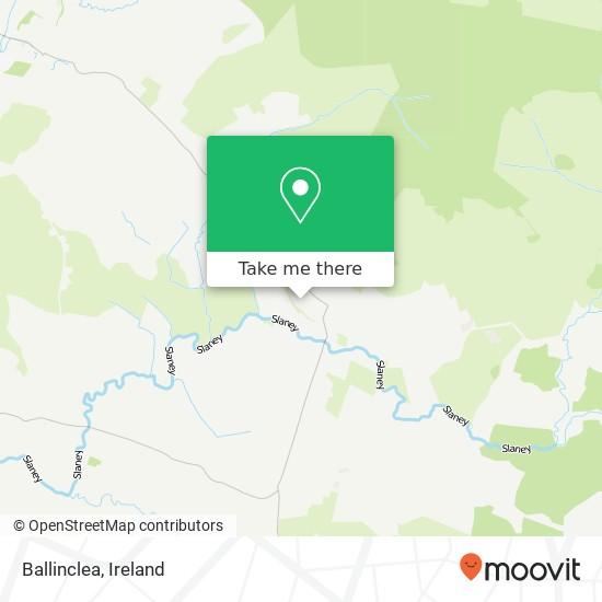 Ballinclea map