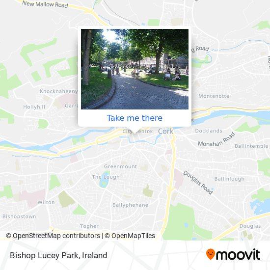 Bishop Lucey Park map