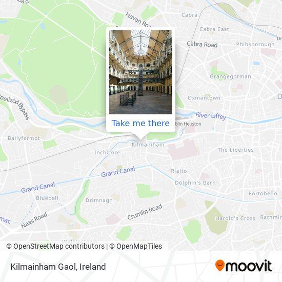 Mapa Kilmainham Gaol