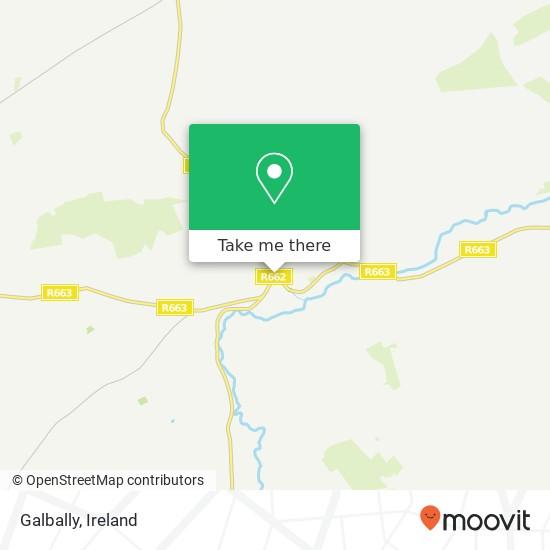 Mapa Galbally