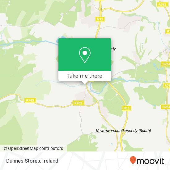 Mappa Dunnes Stores