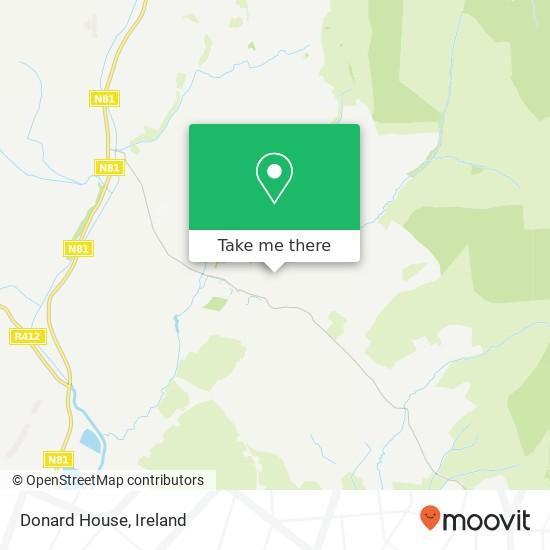 Mappa Donard House