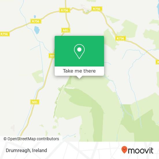 Mapa Drumreagh