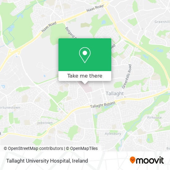 Adelaide And Meath Hospital, Dublin Incorporating The National Children's Hospital map