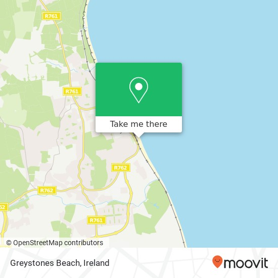 Greystones Beach plan