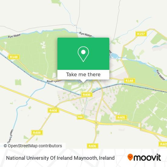 National University Of Ireland Maynooth map