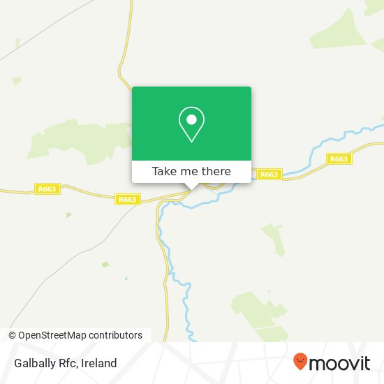 Mapa Galbally Rfc