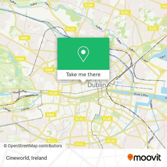 Mappa Cineworld