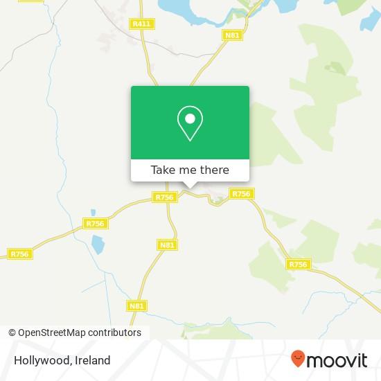 Mapa Hollywood
