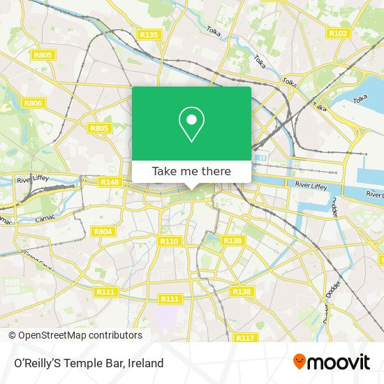 O'Reilly'S Temple Bar map