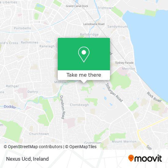 Nexus Ucd map
