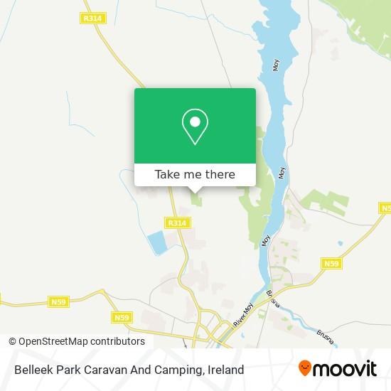 Belleek Park Caravan And Camping map