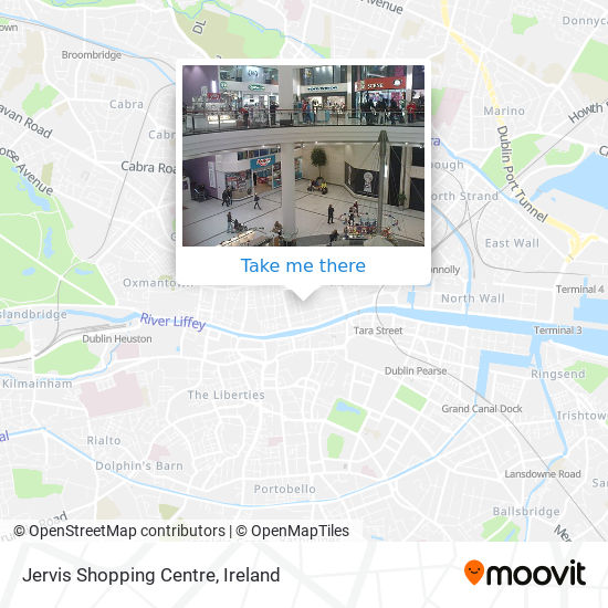 Jervis Shopping Centre map