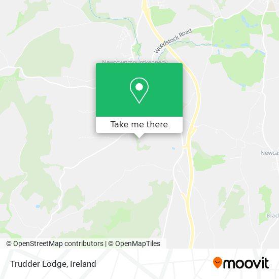 Trudder Lodge map