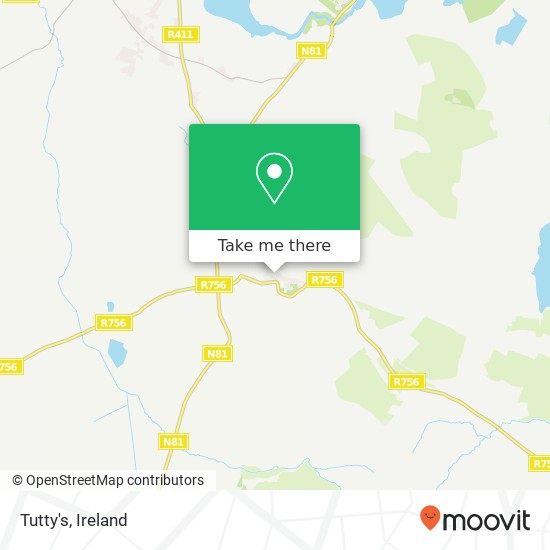 Mapa Tutty's