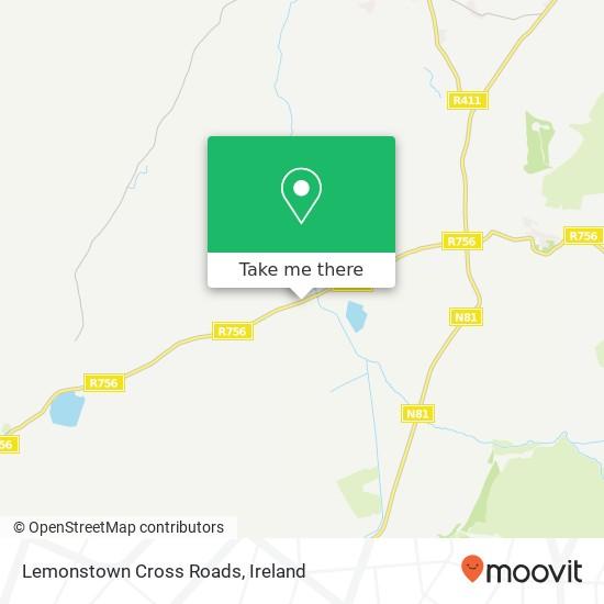 Mappa Lemonstown Cross Roads