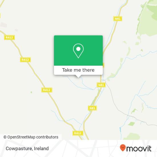 Cowpasture map