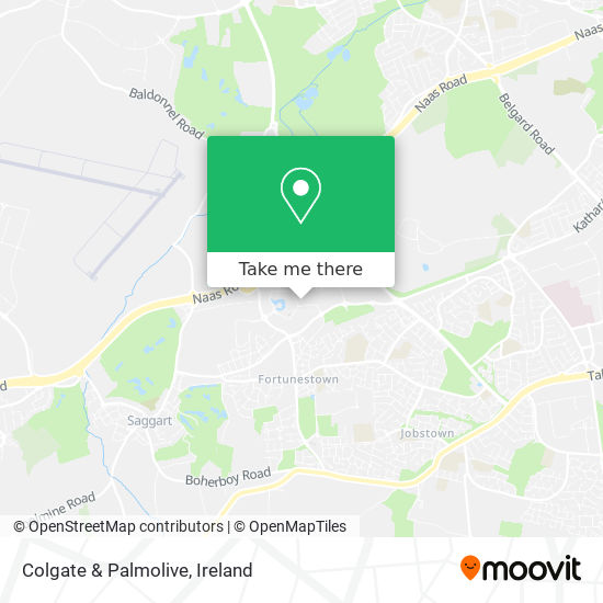 Colgate & Palmolive map