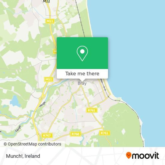 Munch! map