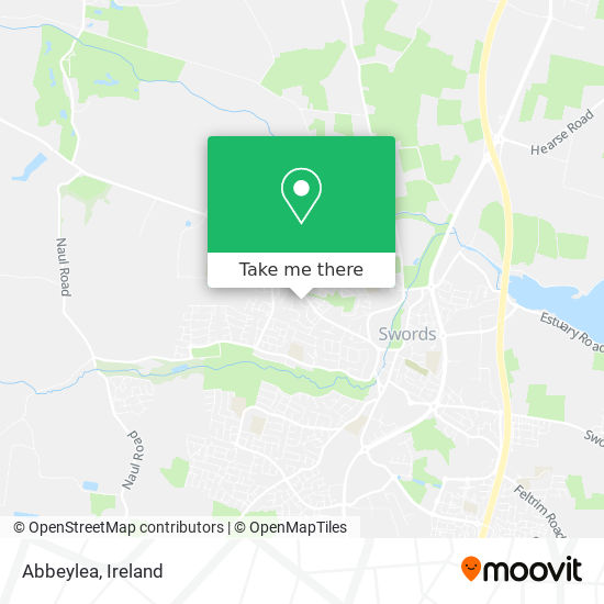 Abbeylea map