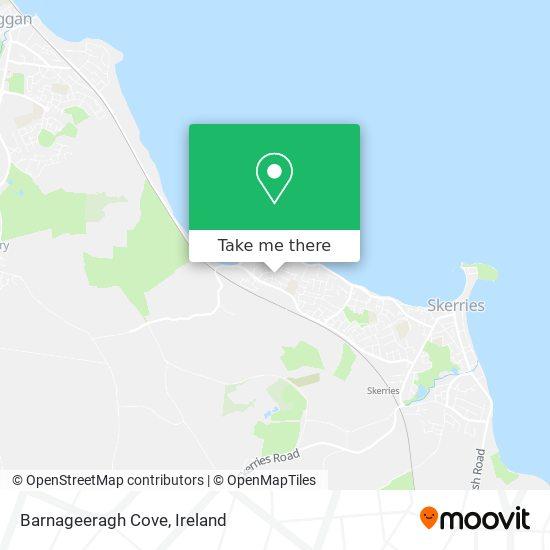 Barnageeragh Cove map