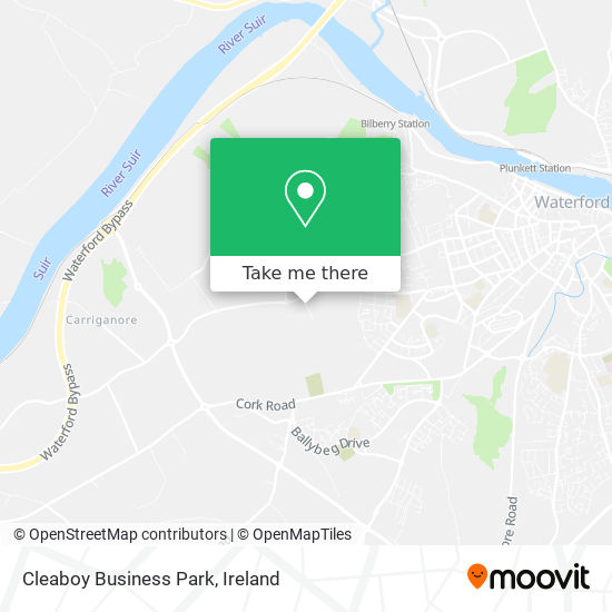 Cleaboy Business Park map