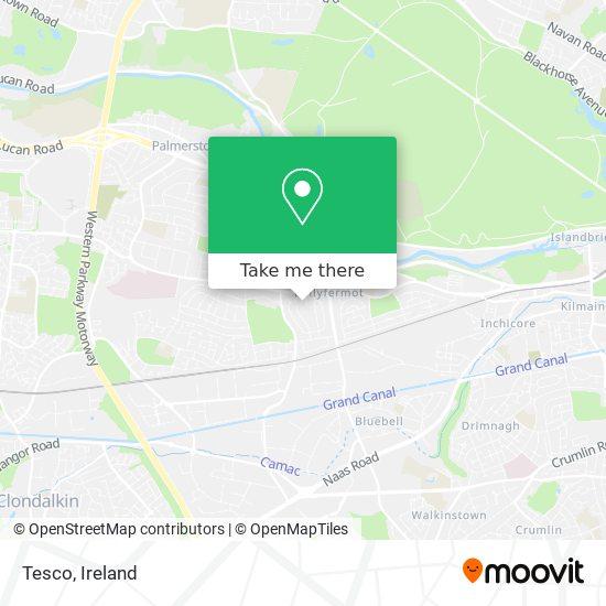 Tesco Ballyfermot map