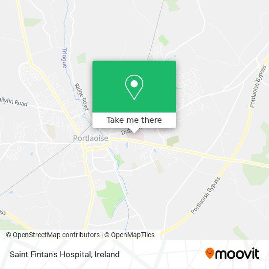 Saint Fintan's Hospital map